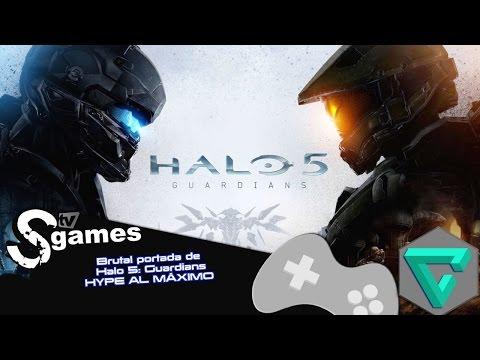 Xbox One: Brutal portada de Halo 5 Guardians HYPE AL MÁXIMO