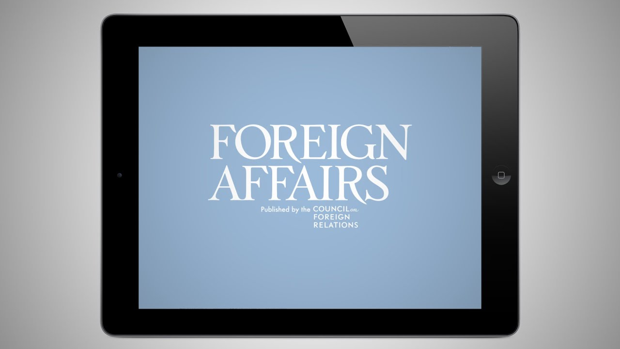 About Foreign Affairs
