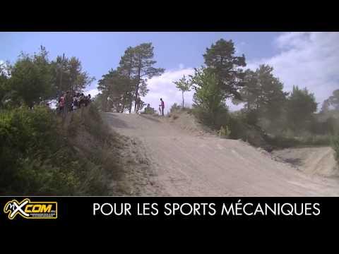 Championnat de France Cadet et Junior Motocross à Montgueux