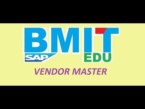VENDOR MASTER CREATION In SAP MM [ VMR ] | Full Tutorial Video