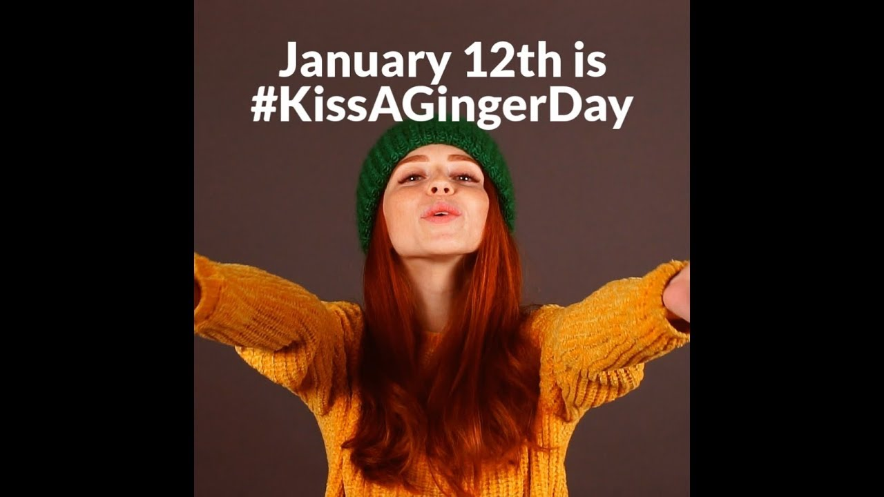 Kiss A Ginger Day 2019 - YouTube