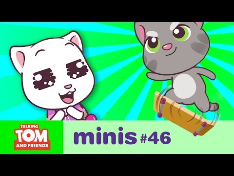 Talking Tom and Friends Minis - The Skateboard Kid (Episode 46)