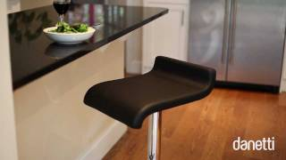 Fondi Chrome Gas Lift Bar Stool