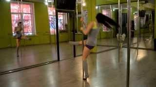 Видео уроки POLE DANCE пол дэнс (проект RPD Strekoza) выпуск № 5