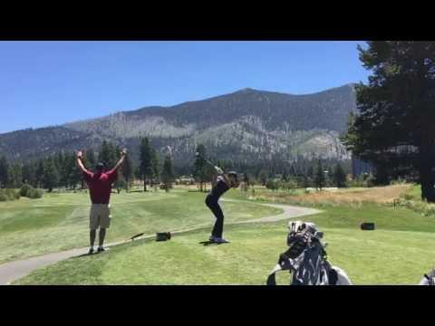 2016 Lake Tahoe Celebrity Golf: Justin Timberlake, Stephen Curry Tee Off