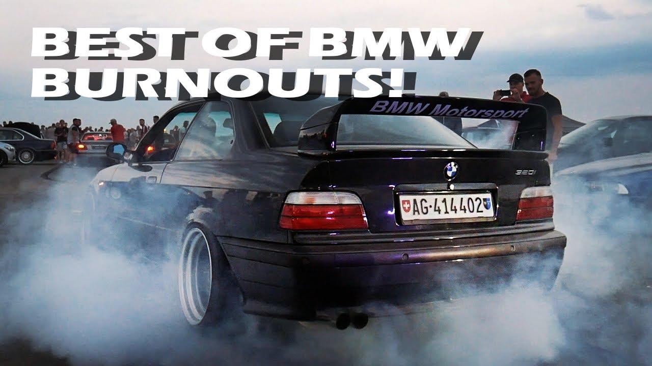 BEST OF BMW BURNOUTS: BMW SYNDIKAT