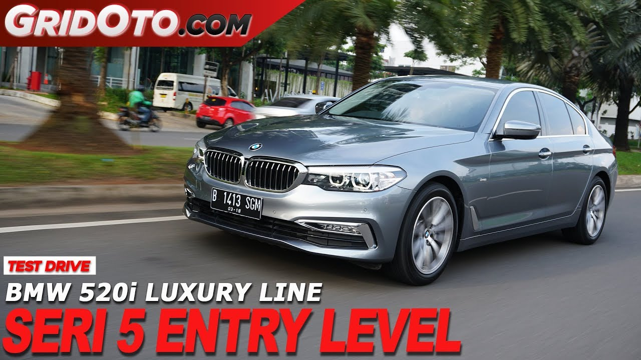 Bmw 520i Luxury Line Test Drive Gridoto Youtube