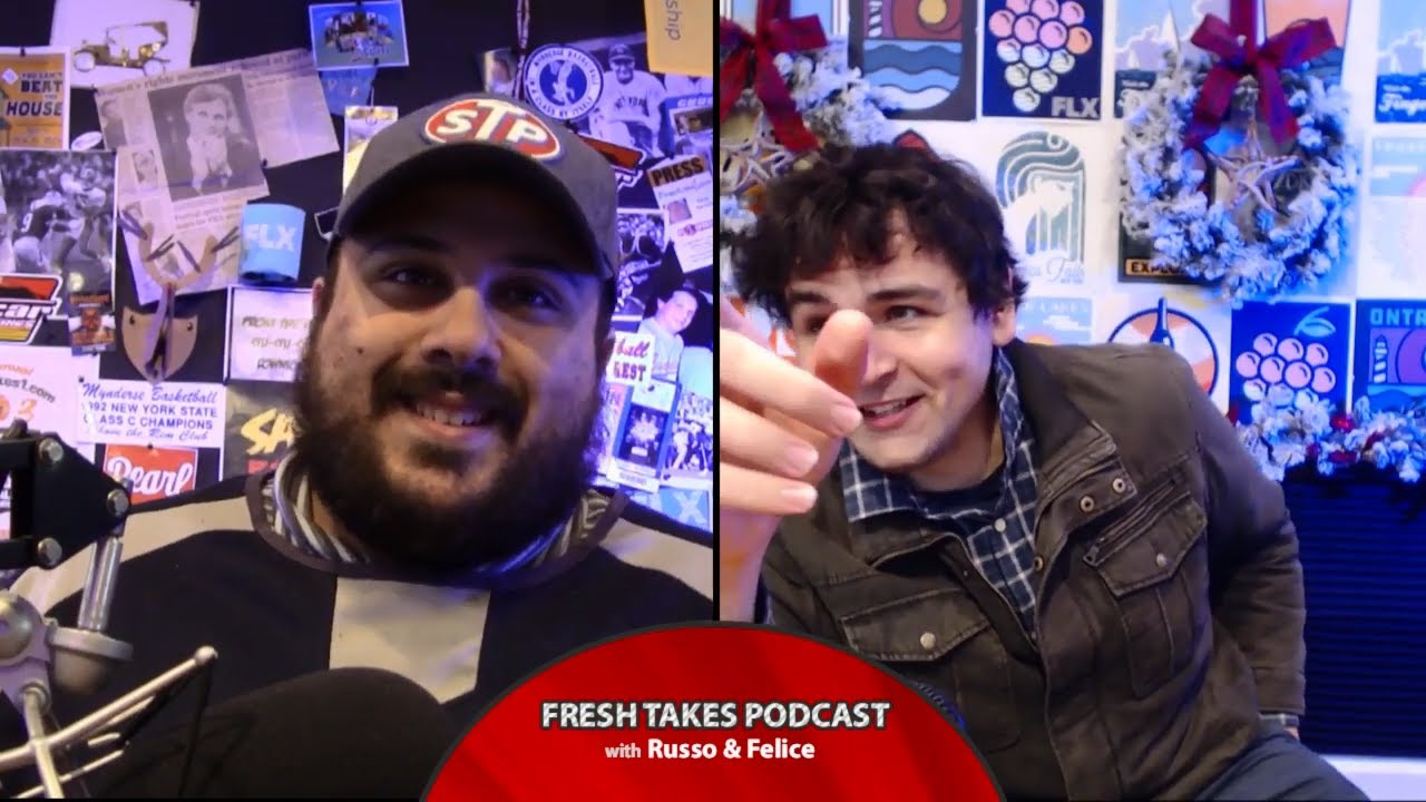 Christmas Power Rankings .::. Fresh Takes w/ Russo & Felice 12/17/19