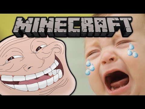 Minecraft: Trolling a Baby! (Role Playing Server)