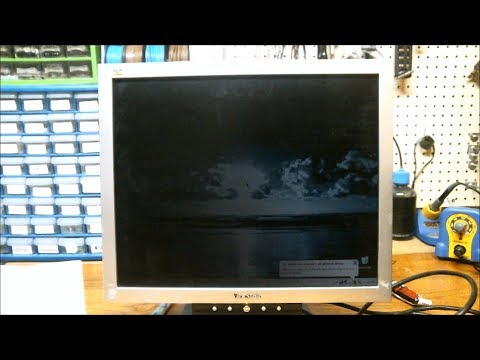 repair lcd monitor backlight youtube