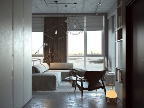 Studio Apartment Design Ideas 500 Square Feet - YouTube