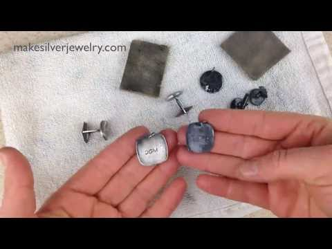 How to Give a Scuffed Matte Finish to Fine Silver PMC Jewelry