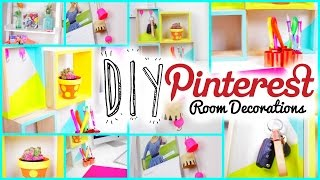 Diy Room Decorations: Pinterest+tumblr Inspired!