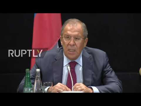 LIVE: Lavrov and Steinmeier hold press conference following meeting in Ekaterinburg - English