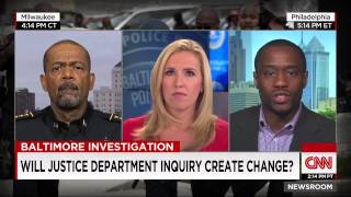 Sheriff David Clarke and Marc Lamont Hill discuss Baltimore