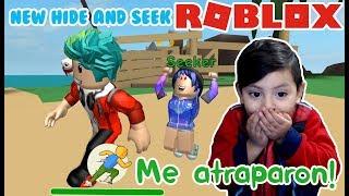Nuevas Escondidas en Roblox | New Hide and Seek | Juegos Roblox para niños