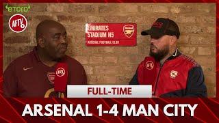 Arsenal 1-4 Man City | If Leno Gets Injured We're F**ked!! (DT)