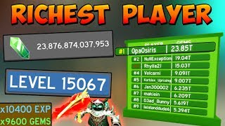 BECOMING THE RICHEST PLAYER - Roblox Slaying Simulator 🔥