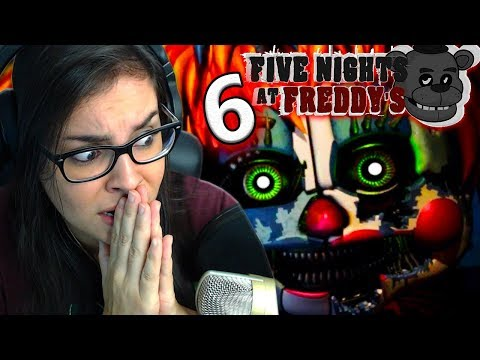 JOGANDO NOVO FIVE NIGHT AT FREDDY'S 6 ! Freddy Fazbear Pizzaria