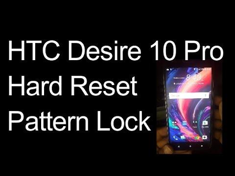 HTC Desire 10 Pro Hard Reset Remove Pattern Lock 2019 Done