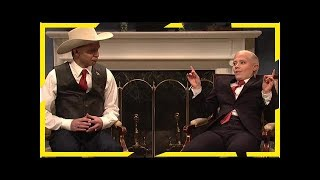 Roy moore and jeff sessions open saturday night live with a tough conversation about whether