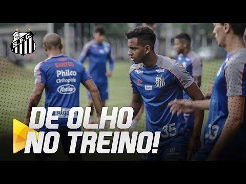 SANTOS SE REAPRESENTA VISANDO JOGO CONTRA O CEARÁ | DE OLHO NO TREINO (29/05/19)