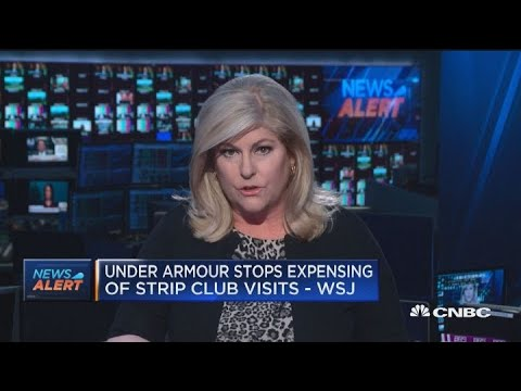 Manifestación Respetuoso del medio ambiente Bien educado  Under Armour reportedly to stop expensing strip club visits - YouTube