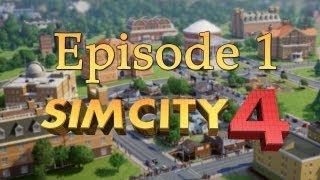 Gameplay Sim City 4 - Episode 1 - FR & HD