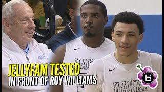 Jelly Fam Gets TESTED By Undefeated St. Benedict's! Roy Williams Watches Precious Dominate!