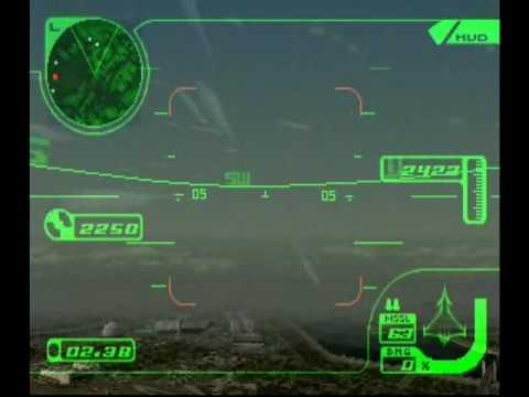 Ace Combat 3 mission 1 Transport