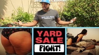 The Yard Sale fight