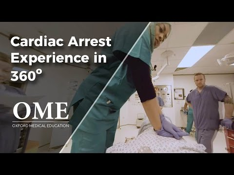 Cardiac Arrest Experience - Patient point of view in advanced life support / code blue