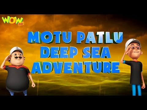 Motu Patlu Deep Sea Adventure - Motu Patlu Movie - ENGLISH, SPANISH & FRENCH SUBTITLES!