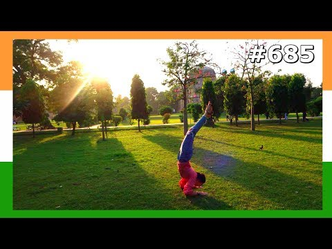 MOST BEAUTIFUL PLACES DELHI INDIA DAY 685 | TRAVEL VLOG IV