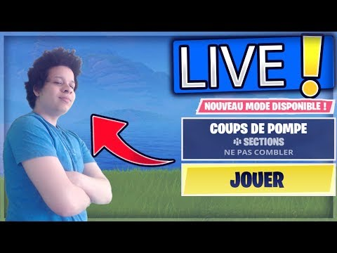 🔴Hakito  - PLUS LE MODE *COUPS DE POMPE* !✔️Fortnite Gameplay Live 🔴