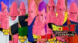 Super Buu All Forms - Pack Absorptions of Budokai 2 - Dragon Ball Z Budokai Tenkaichi 3