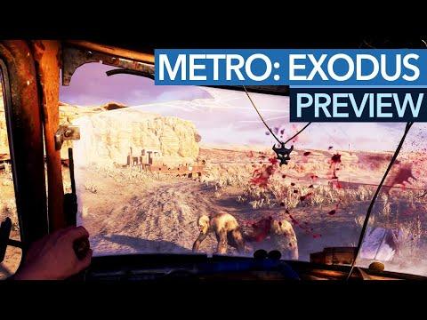 Metro: Exodus gespielt - Fahrzeuge und Wüste wie in Mad Max - Preview / Vorschau