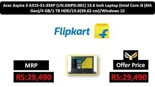 Acer Aspire 3 A315-51-356P (UN.GNPSI.001) 15.6 Inch Laptop