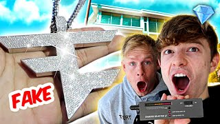 TESTING FAZE HOUSE DIAMONDS! *EXPOSING FAKE JEWELRY*
