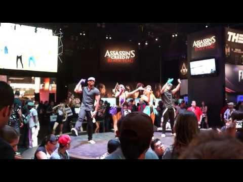Just Dance E3 2013 Dancing Showcase Part 1 One Direction Edition