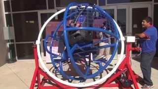 Harmony Science Academy - PBL/STEM Projects - Human Gyroscope