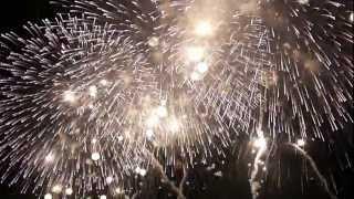 まるで火の粉が降ってくるような巨大なスケールの花火 http://blog.daya...