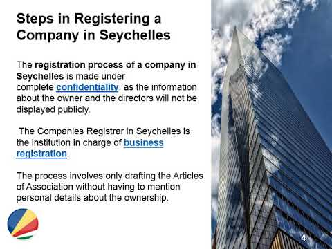How a Foreigner Can Open a Company in Seychelles