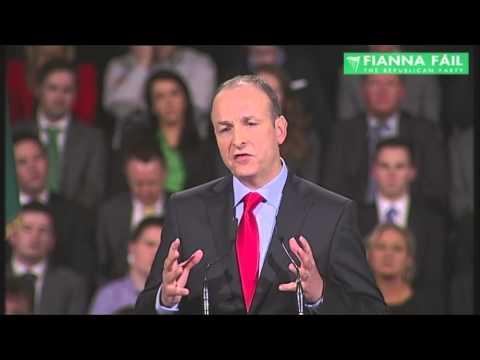 Ard Fheis 2013: Presidential Address by Micheál Martin