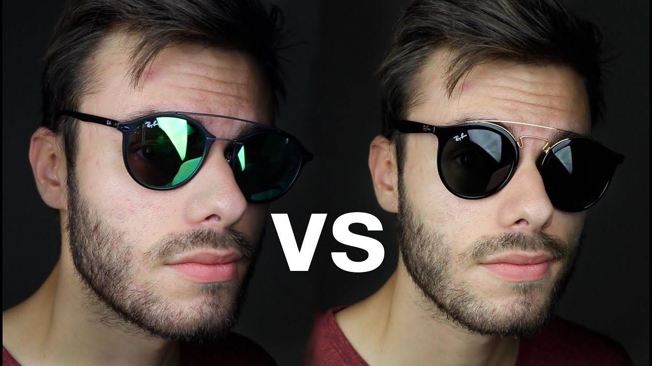 Ray Ban Gatsby Vs Gatsby Light Ray Youtube