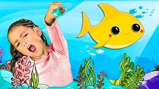 Bebé Tiburón en Español y Mas Canciones Infantiles | La Mejor Musica para Niños