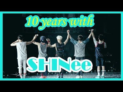 SHINee - Happy 10th Anniversary + Shawols' Messages (legendado/ENG SUBS)