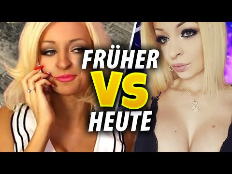 Katja Krasavice - YouTuber FRÜHER vs HEUTE!
