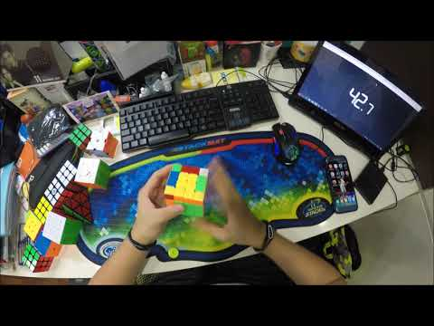 Moyu Aosu GTS M solved in 56.05 secs+written review on the cube+QnA announcement at the end