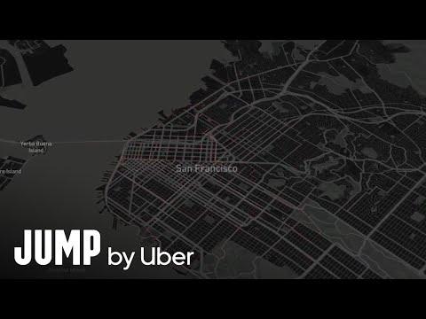 JUMP Bikes - San Francisco February Rides Visualization